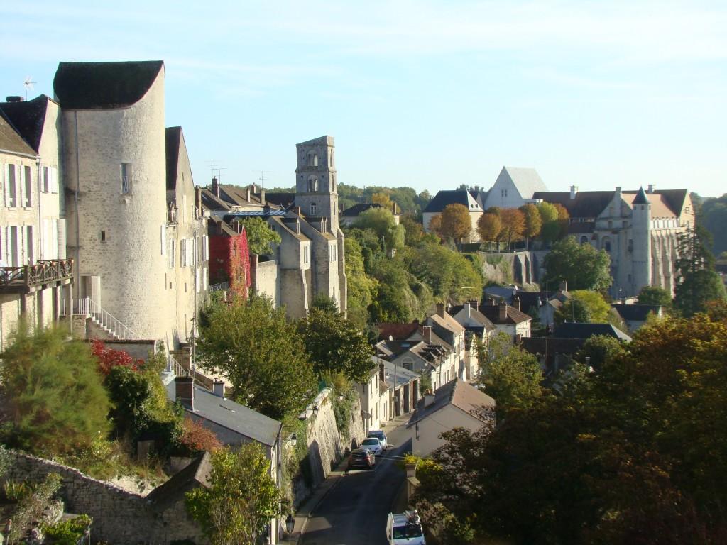 Vue panoramique de Château-Landon