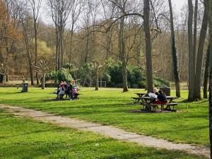 Aire de pique-nique Parc de la Tabarderie Château-Landon