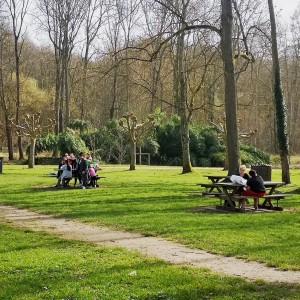 pique-nique parc de la tabarderie château-landon
