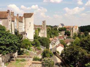 Château-Landon_(77),_panorama_depuis_la_place_du_Larry,_vue_vers_l'est_1