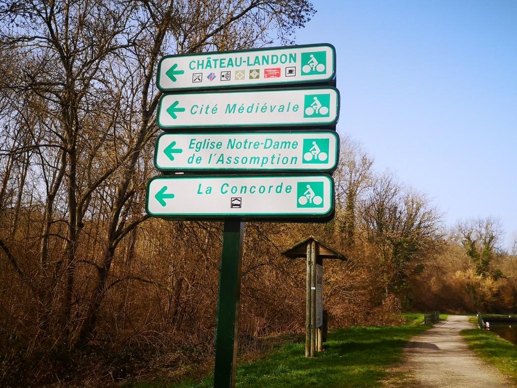 départ boucle vélo château-landon (1)