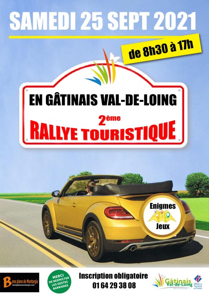 affiche rallye touristique 2021